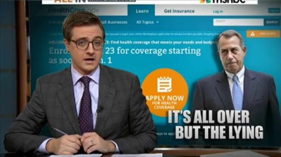 Chris Hayes mocks New York Post: Obamacare toddler horror story was pure bunk