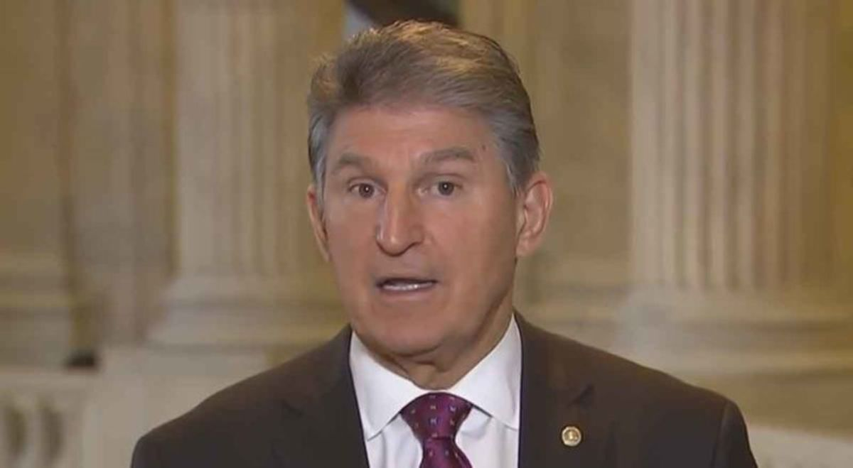 WATCH: Joe Manchin goes down in flames when confronted with McConnell's pledge to totally obstruct Biden