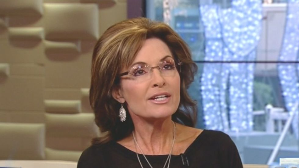 Sarah Palin: People might be afraid to 'start a business' because Martin Bashir attacked me