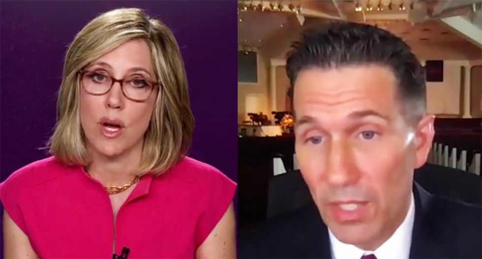CNN's Camerota grills New Jersey pastor for defying state order and delivering sermon without a mask