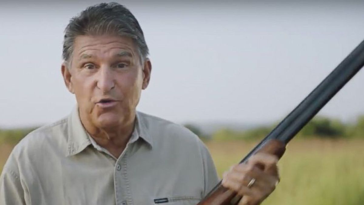 The most revealing thing Joe Manchin said about his power in the Senate