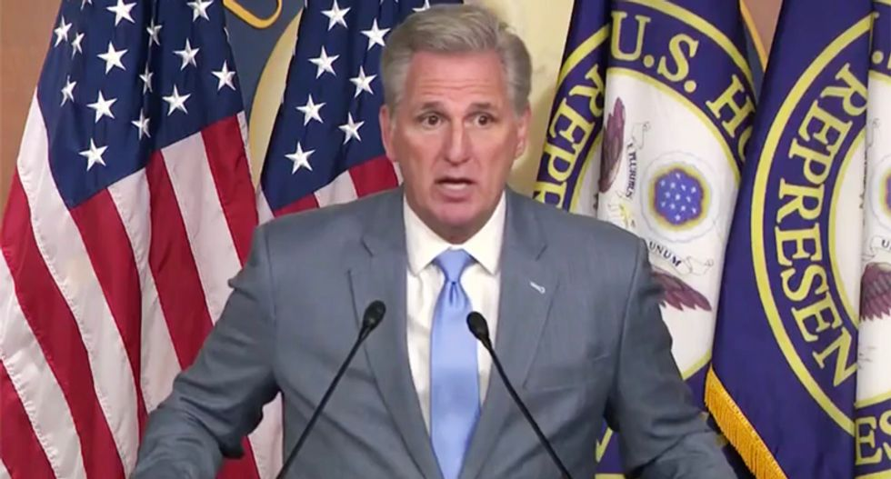 Morning Joe brutally mocks Kevin McCarthy's intelligence over lies about Hillary Clinton