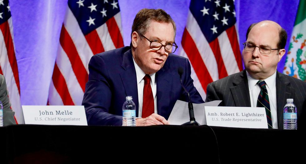 US talks tough as NAFTA negotiations get under way