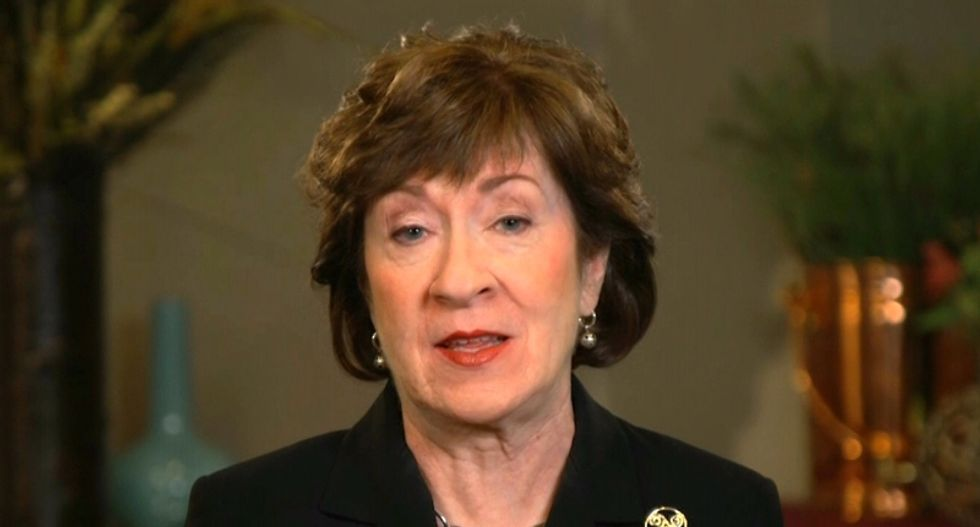 Right-wing news site gave $50,000 to super PAC backing Susan Collins — while attacking her opponent's 'big money'