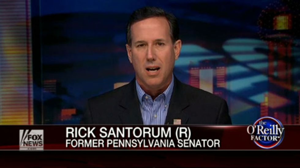 Rick Santorum compares himself to Nelson Mandela fighting against the 'apartheid' of Obamacare