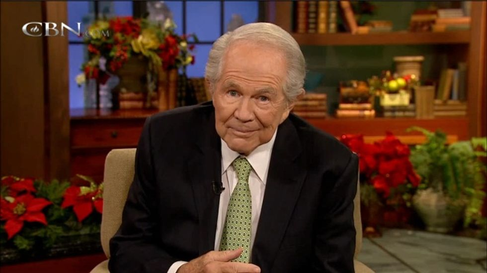 Pat Robertson tells woman: 'Something in your character' makes men abuse you