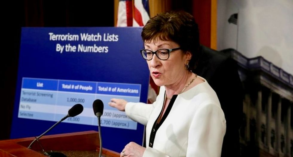 GOP Sen. Susan Collins demands intel briefing from White House on Trump leak to Russians