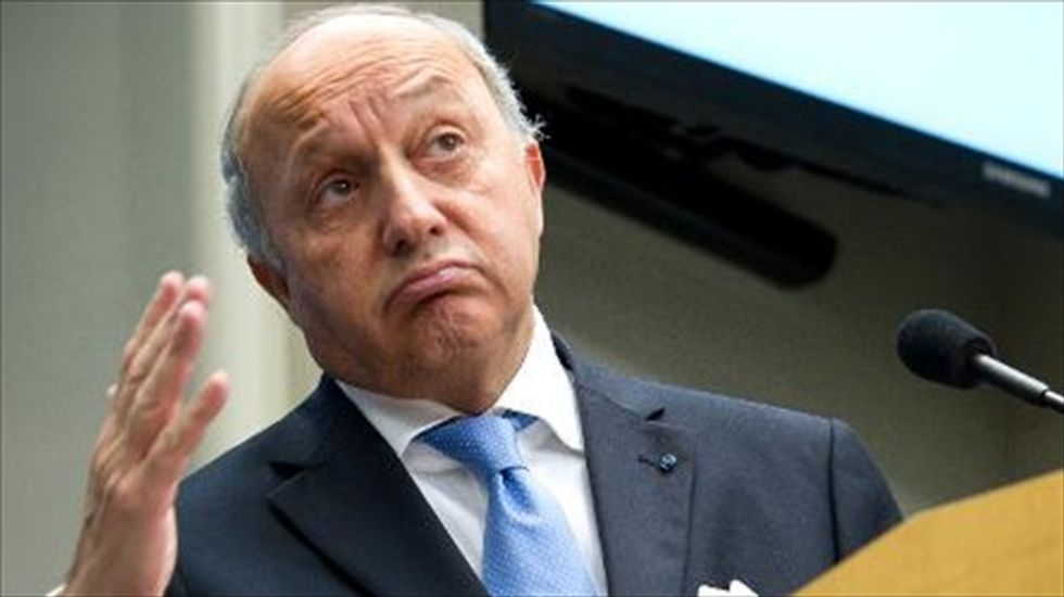 French foreign minister defends sale of warships to Russia