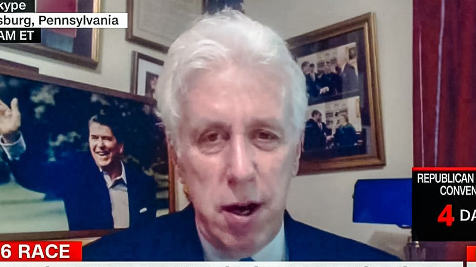 Retired general schools Jeffrey Lord: 'Uninformed' Trump and his followers know nothing about ISIS