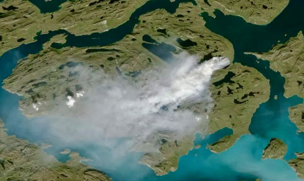 Scientists warn of 'zombie fires' in the Arctic