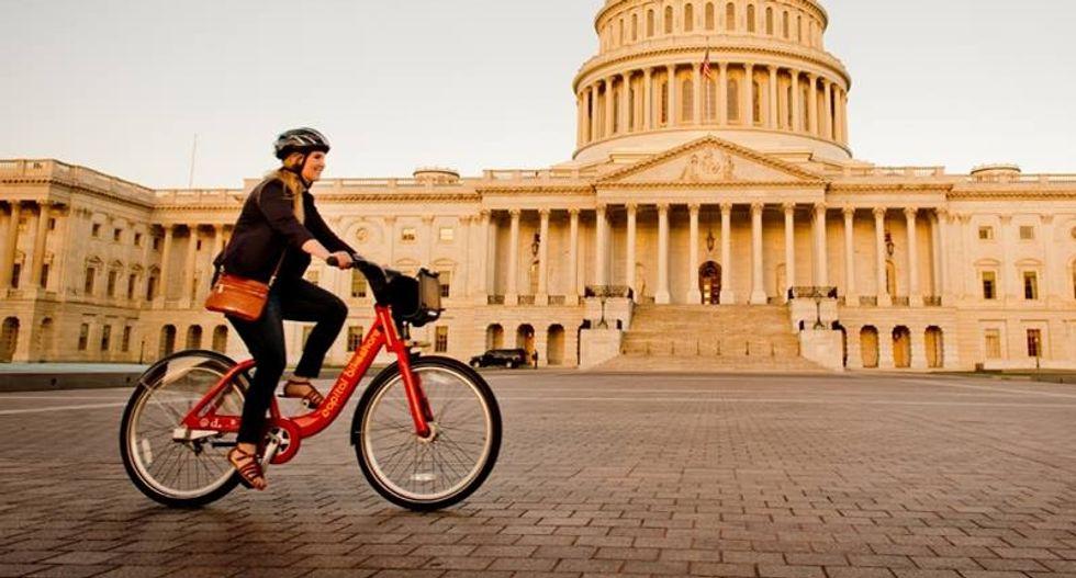 'He wants people to get fat': Internet wonders why Trump nixed Obama-era WH bike share station