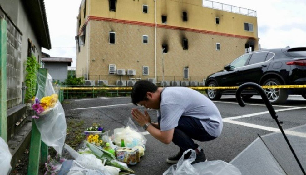 Man arrested over deadly arson at Japanese animation studio