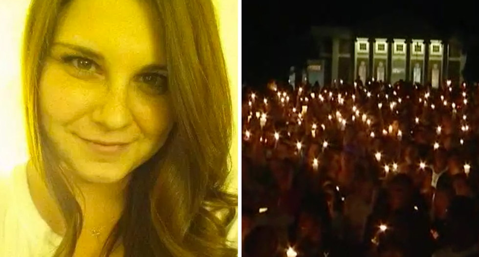 WATCH LIVE: Counter-protestors hold candlelight vigil in Charlottesville for slain hero Heather Heyer