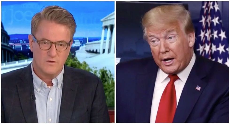 Trump pushed National Enquirer to publish his Joe Scarborough conspiracy theories -- but the tabloid refused