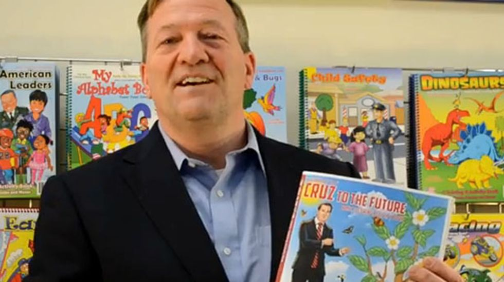 Ted Cruz coloring book for children says Obamacare 'worse than any war'