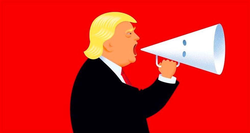 Economist magazine eviscerates 'boorish, inept and unfit for office' Trump with KKK cover
