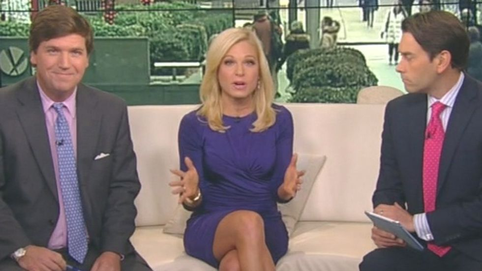 Fox News guest tells female host to quit, get married, have babies and 'thank men'