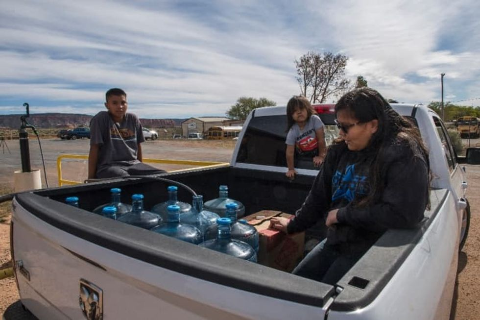 'Water is life': COVID-19 exposes chronic crisis in Navajo Nation