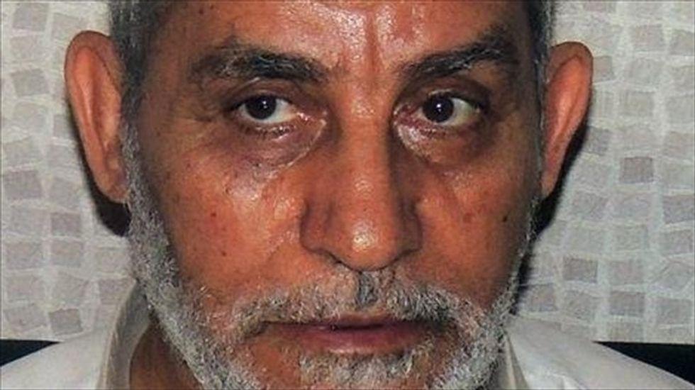 Egyptian Brotherhood chief Mohamed Badie among 683 sentenced to death