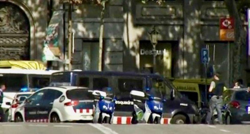 Five terrorists killed south of Barcelona