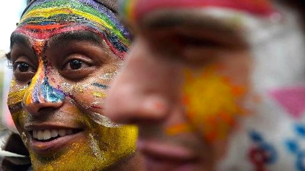 India's top court upholds a law criminalizing gay sex