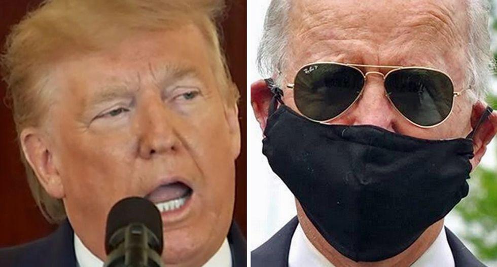WATCH: Fox News announces Biden beating Trump by double digits