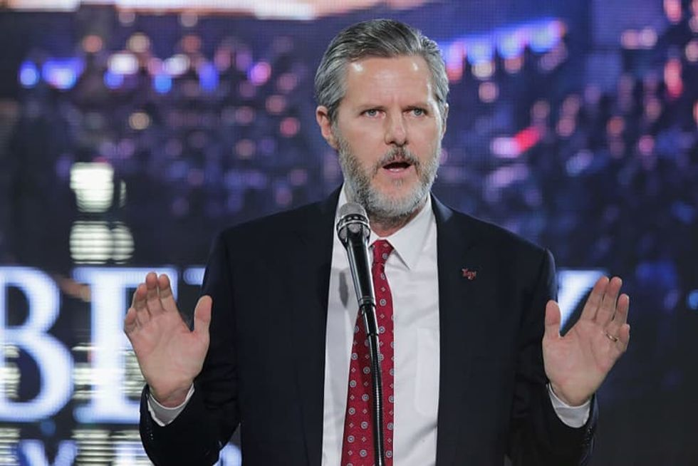 Jerry Falwell Jr. says he'll only follow Virginia's coronavirus mask rule if it has Gov. Northam's alleged blackface photo