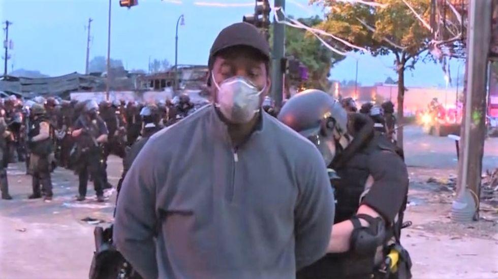 WATCH: Minnesota cops arrest CNN reporter and entire camera crew on live TV