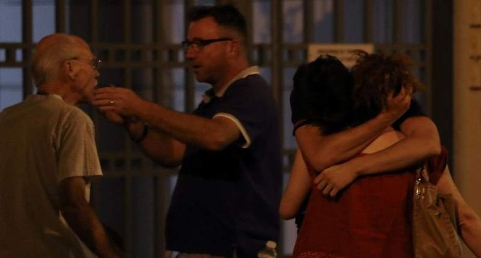 Witnesses describe Nice truck attack: 'We saw people hit and bits of debris flying around'