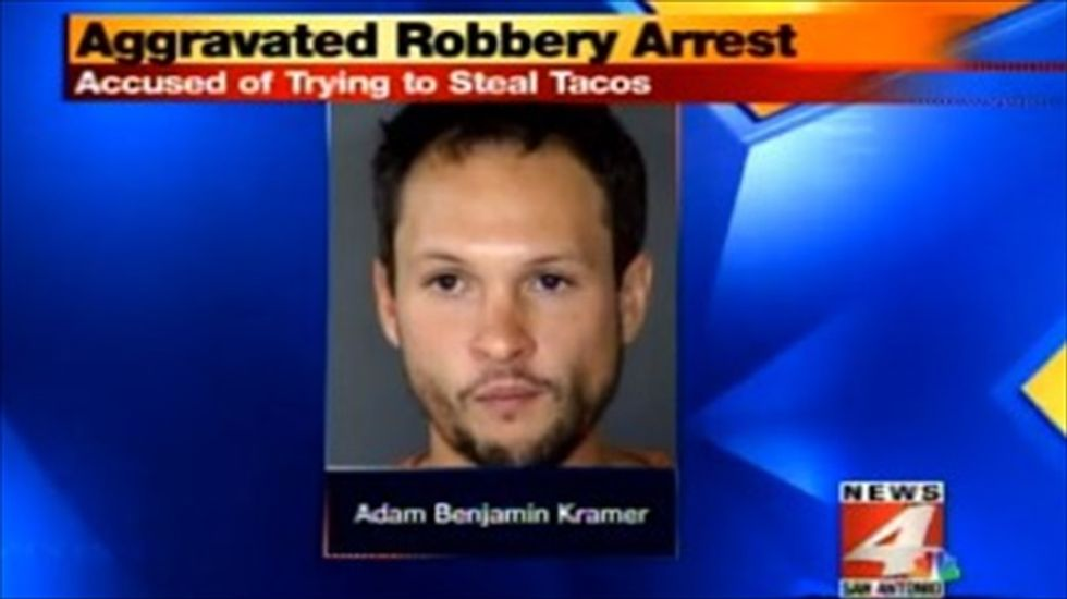 Sword-wielding Texas man threatens waitress: Give me free tacos or somebody dies