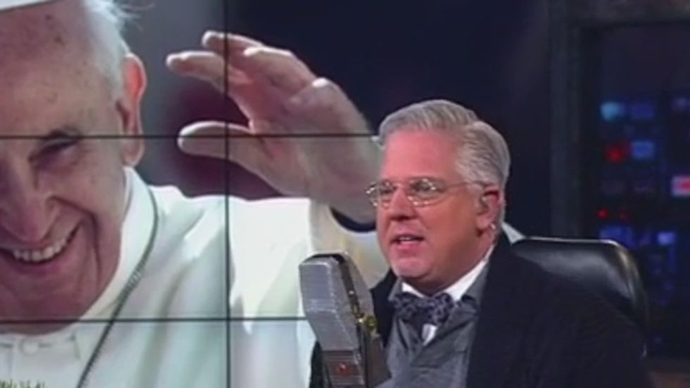 Glenn Beck: The pope is Person of the Year because 'progressives are fascists'