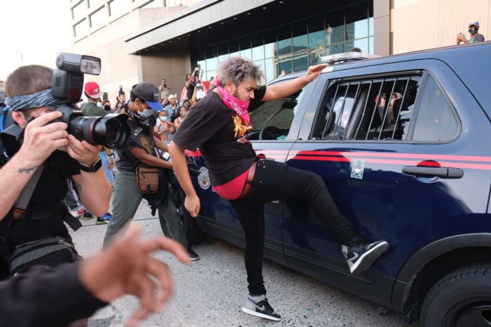 Atlanta mayor urges violent protesters to 'go home'