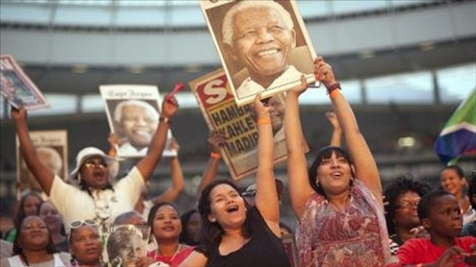 South Africa celebrates 20 years of end of apartheid