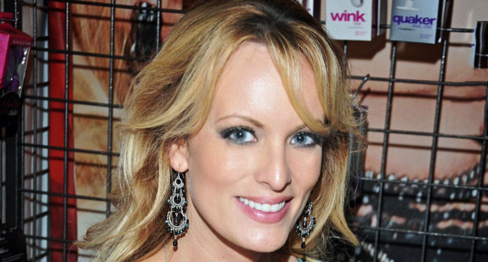 Daniel's attorney reveals 10 donors have offered to pay million dollar damage fines if adult star spills beans on Trump