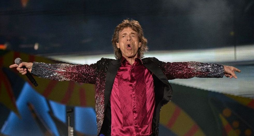 Mick Jagger to be father again at 72
