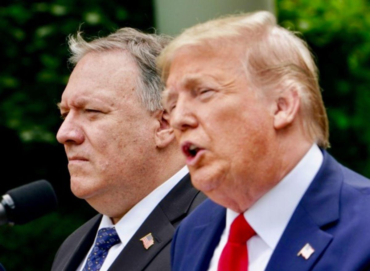 European official declares Trump a 'political pyromaniac' — Pompeo cancels trip: report