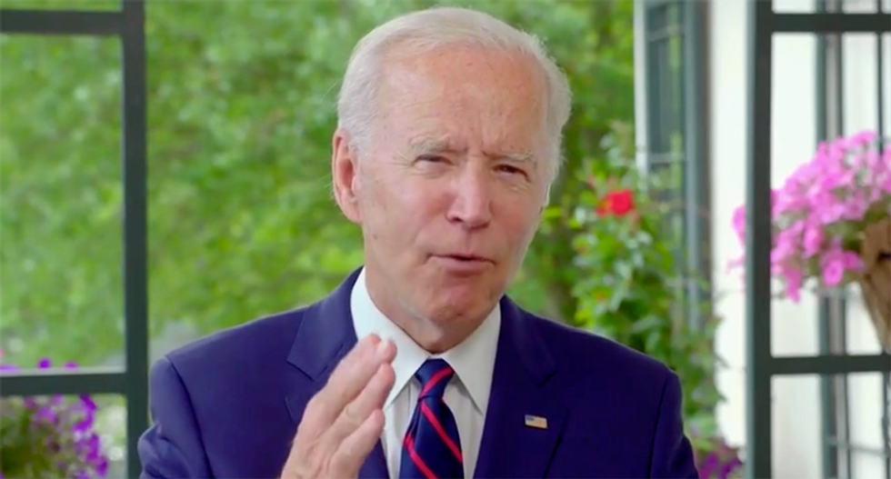 Joe Biden takes on Trump's rhetoric during racial justice crises: 'The words of a president matter'