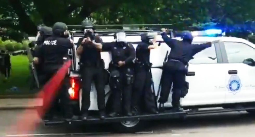 Denver cops busted for doing drive-by shootings of anti-police brutality protesters