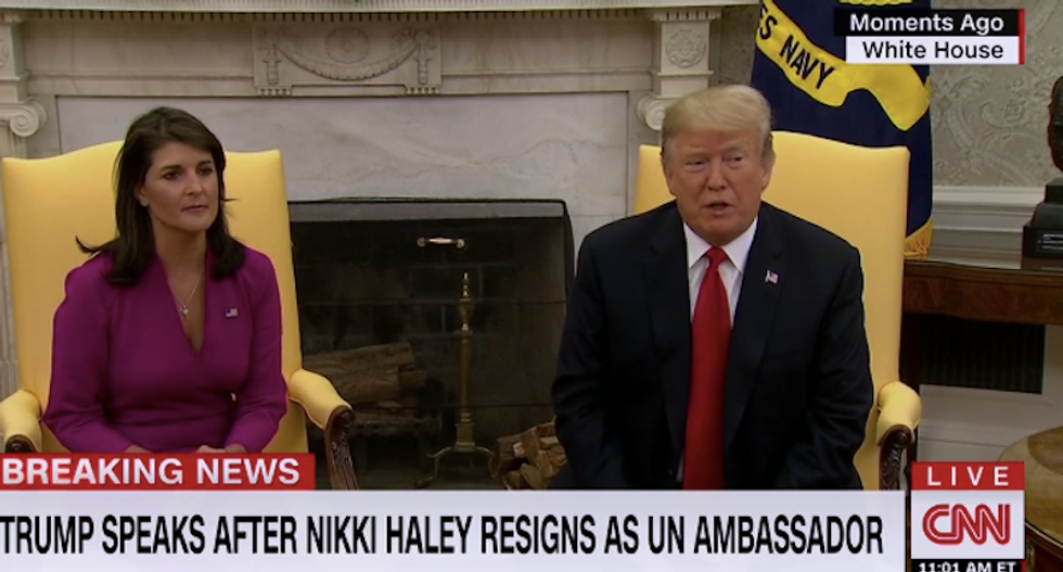 Nikki Haley says she just needed a 'break' -- insists she won't challenge Trump in 2020