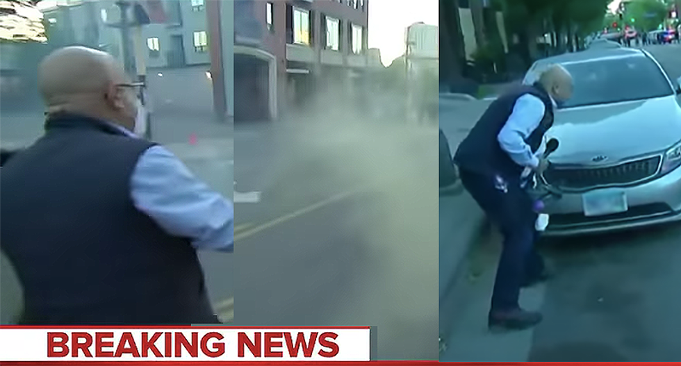 Trump calls journalists 'the enemy of the people' — and now police appear to target reporters covering the protests