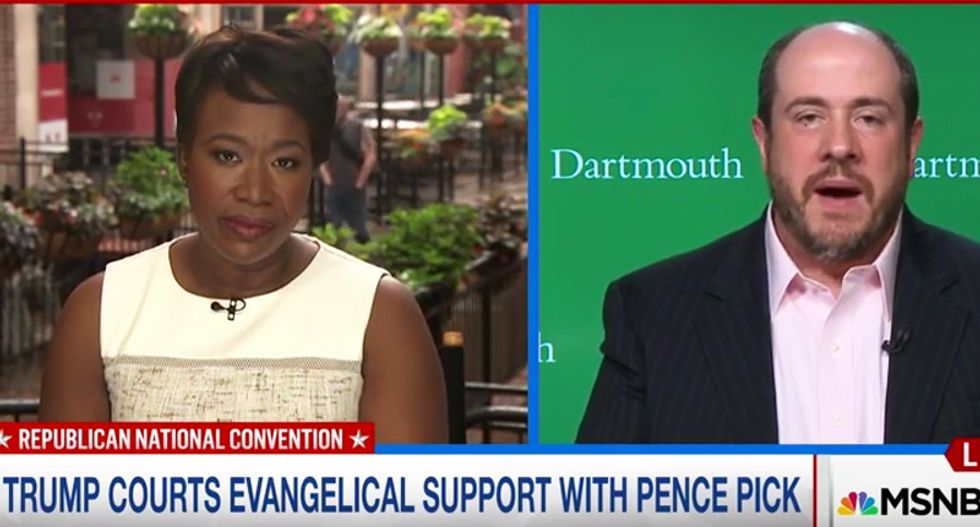 MSNBC guest: Mike Pence is the 'most anti-abortion presidential or VP candidate we've had'