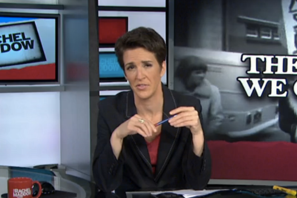 Maddow: Do not accept that we are helpless to stop gun violence against kids