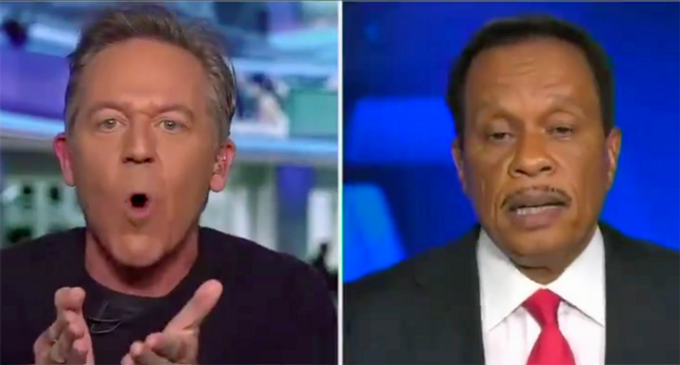 Fox News host loses it and starts shouting as his black colleague tries to calmly explain the protests