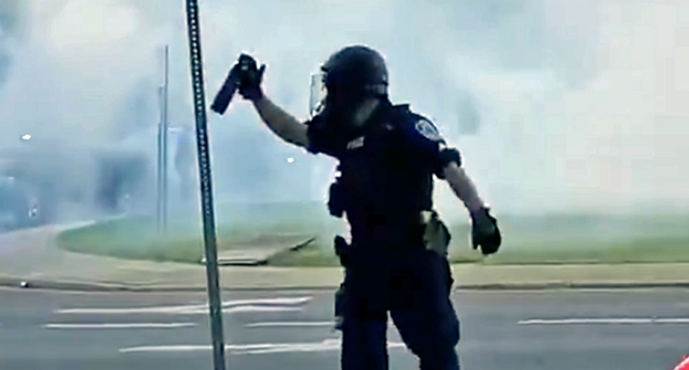 'The gas was necessary': Police defending tear-gassing protesters -- but the mayor wants to apologize in person