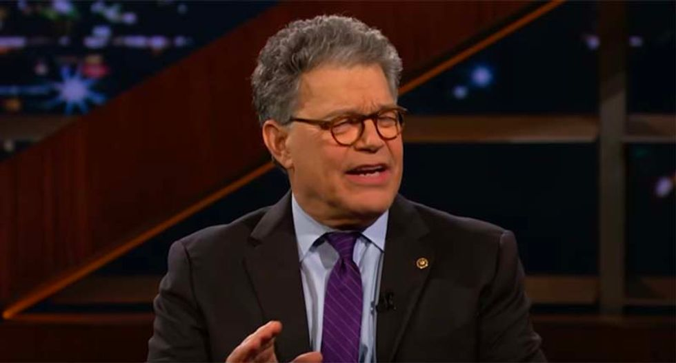 Al Franken breaks down why Trump's 'collusion is not a crime' defense is an 'insult to everyone's intelligence'