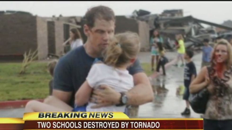 Oklahoma GOP tax cut axes tornado shelters after storms killed seven students in 2013