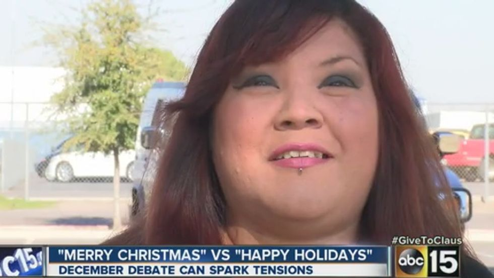 Salvation Army bell ringer punched for saying 'Happy Holidays' instead of 'Merry Christmas'