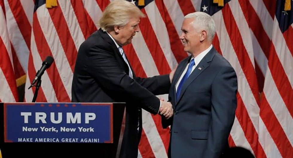 Can Pence's vow not to sling mud survive a Trump campaign?
