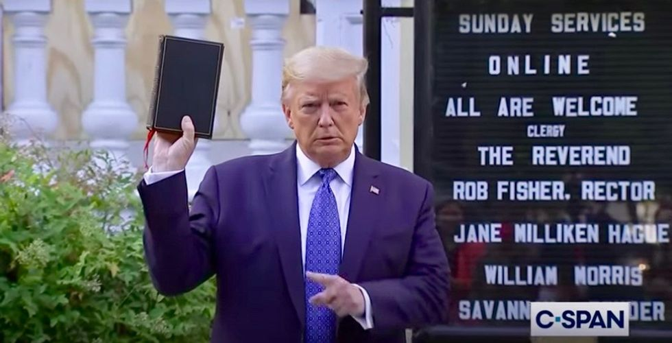 Trump's use of religion follows playbook of authoritarian-leaning leaders the world over
