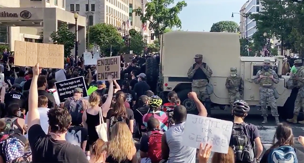 'We need to put guardrails in place': Senator unveils plan to bar use of US military force against protesters